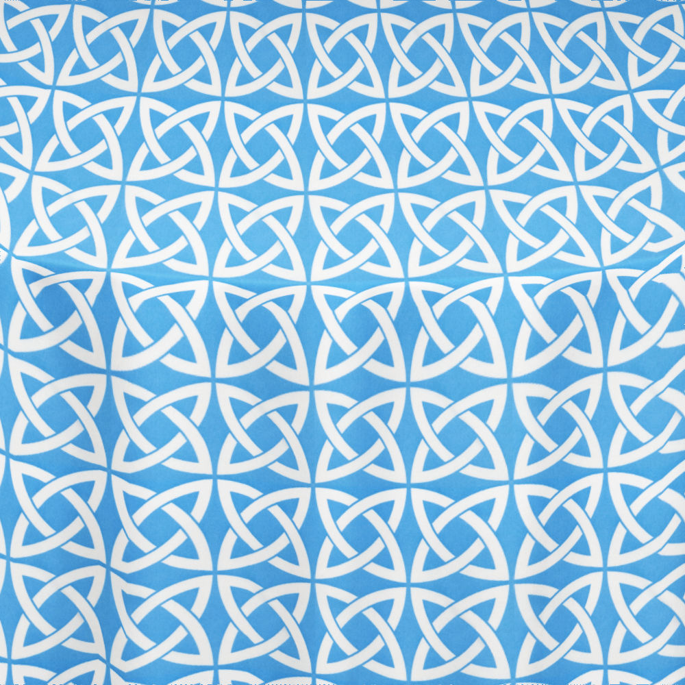 Turquoise Celtic Table Linen