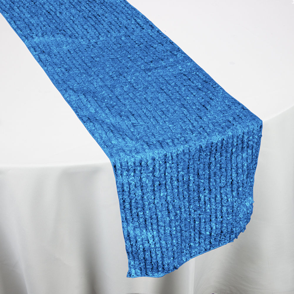 Turquoise FunFetti Table Runner
