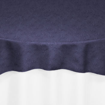 Victorian Lilac Duchess Satin Crushed Overlay By Chair