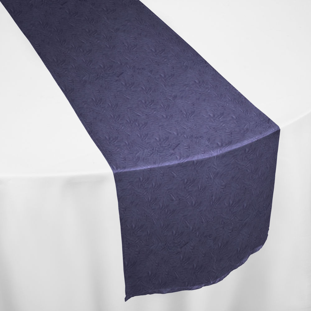 Victorian Lilac Duchess Satin Crushed Table Runner