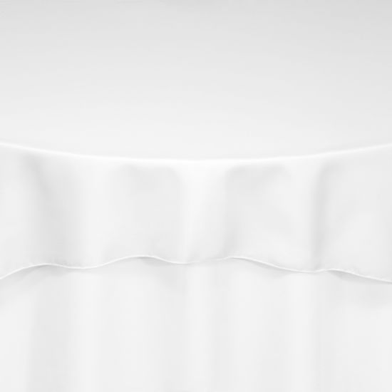 White Duchess Satin Chair Pad By Chair Covers Amp Linens