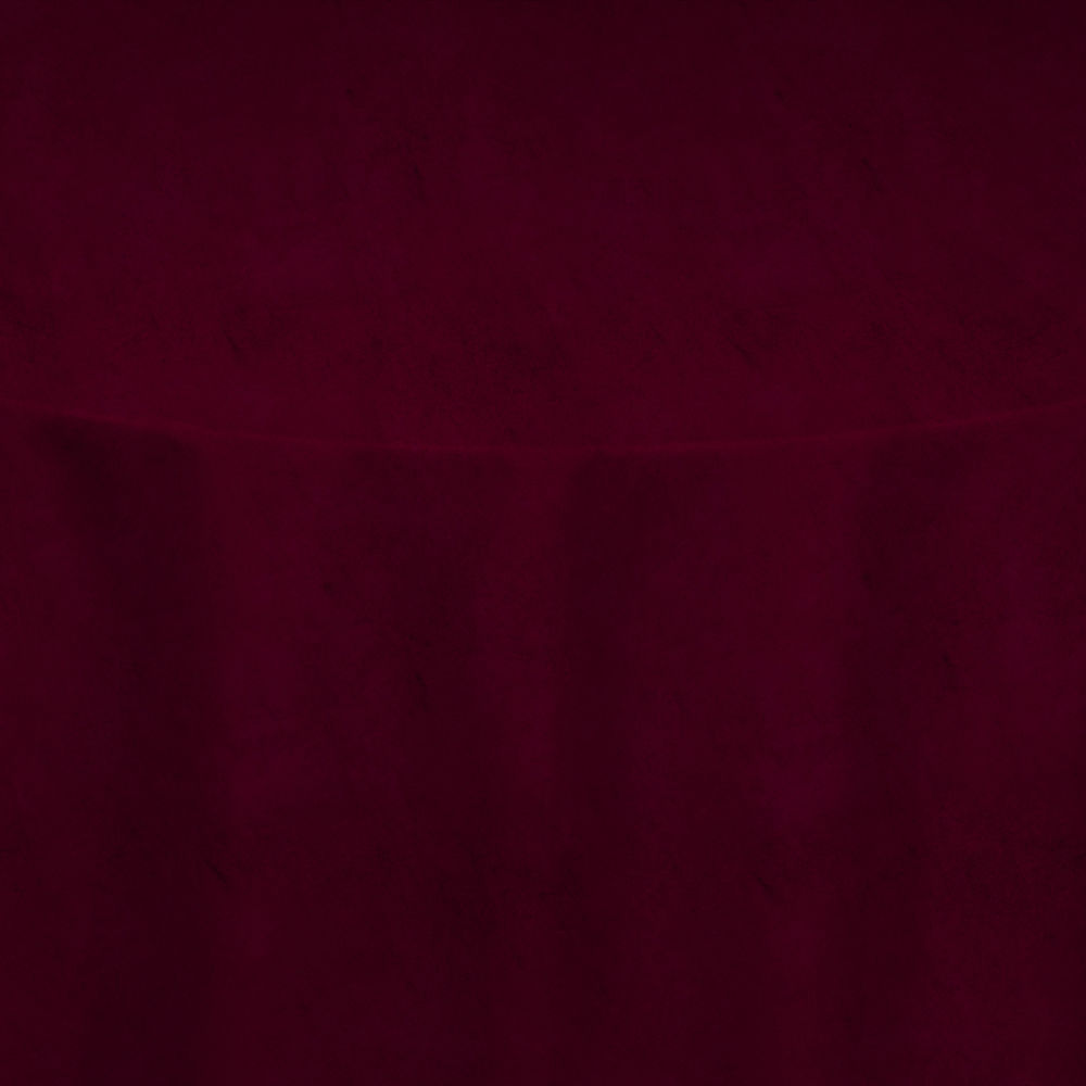 Wine Velvet Table Linen