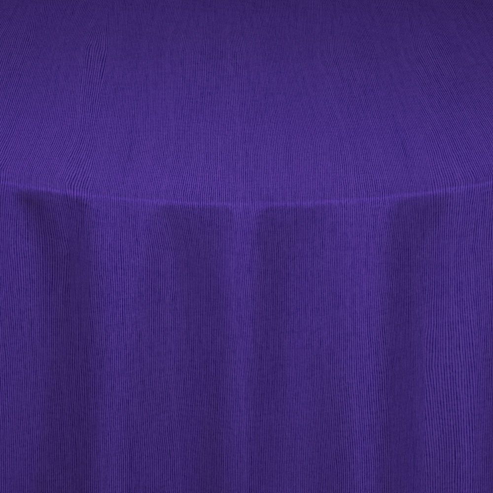 Wood Violet Bengaline Moire Table Linen