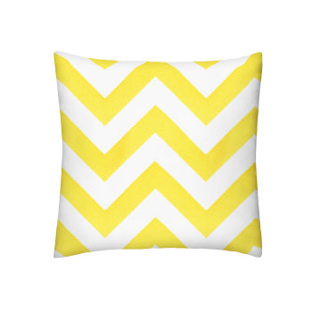Yellow Chevron Pillow Yellow Chevron Pillow